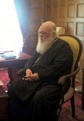 Στον Αρχιεπίσκοπο ο Β. Κόκκαλης για τις αγροτικές εκτάσεις της Εκκλησίας