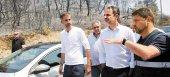 Άμεσες καταγραφές ζημιών στις αγροτικές εκμεταλλεύσεις της Εύβοιας υποσχέθηκε ο Μητσοτάκης
