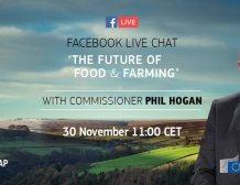 Ζωντανή βιντεοσυνομιλία σήμερα στις 12:00 με τον Φιλ Χόγκαν για το μέλλον της ΚΑΠ, μέσω Facebook