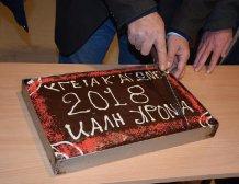 Έκοψε πίτα η ΕΟΑΣΚ και το φλουρί το κέρδισε ο Αγροτικός Σύλλογος Καλογριανών