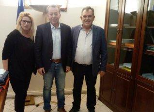 Συνάντηση Κόκκαλη με το δήμαρχο Μεσσήνης με επίκεντρο τις αρδευτικές ανάγκες