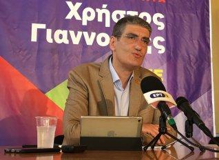 Το πρόγραμμα του συνδυασμού του για την Περιφέρεια Κεντρικής Μακεδονίας παρουσίασε ο Γιαννούλης