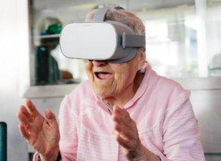 "H εικονική πραγματικότητα ""πάει"" στα γηροκομεία"