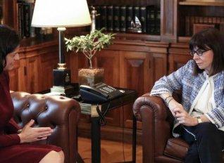 Συνάντηση Προέδρου της Δημοκρατίας με Κεραμέως για την εκπαίδευση και την πανδημία
