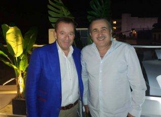 Στη Λάρισα ο Λάκης Λαζόπουλος για να στηρίξει τον Βασίλη Κόκκαλη