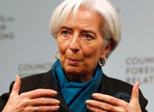 Λαγκάρντ: Η Ελλάδα χρειάζεται καλύτερη είσπραξη φόρων και μεταρρυθμίσεις στο συνταξιοδοτικό