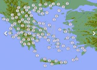 Μεγάλη πτώση της θερμοκρασίας αύριο στην κεντρική και βόρεια Ελλάδα