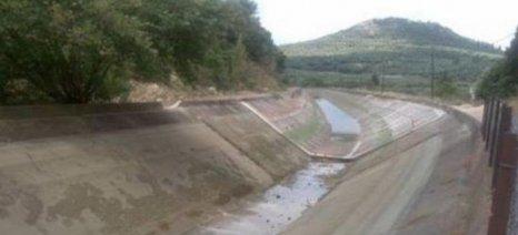 Καταστρέφεται ο κάμπος Νεοχωρίου-Κατοχής στην Αιτωλοακαρνανία από τη νέα βλάβη της διώρυγας Δ20