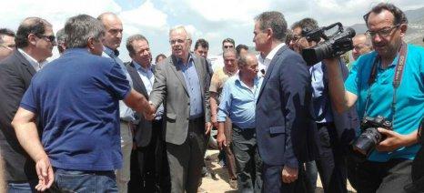 Με ομάδες νέων αγροτών συναντήθηκε στην Κοζάνη ο Αποστόλου για την προώθηση των αρωματικών φυτών