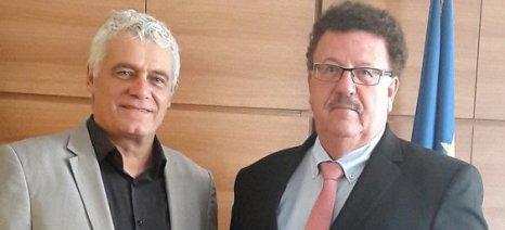 Συνάντηση Τσιρώνη-Φούχτελ για ελληνογερμανική συνεργασία στον αγροδιατροφικό τομέα