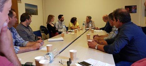 Όλα τα θέματα που απασχολούν τον αγροτικό κόσμο της Λέσβου συζητήθηκαν σε νέα σύσκεψη στο ΥΠΑΑΤ
