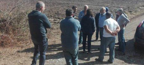 Άρχισαν οι εκτιμήσεις και οι αποκαταστάσεις των ζημιών στο Μαντούδι Ευβοίας