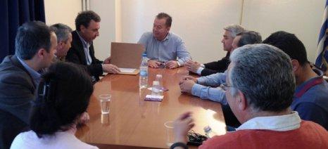 Συνάντηση Κόκκαλη με τη Νέα Ομοσπονδία Χοιροτροφικών Συλλόγων Ελλάδος