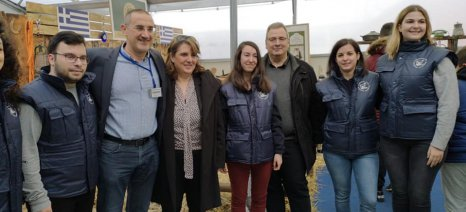 Την 11η Zootechnia επισκέφθηκε η Τελιγιορίδου