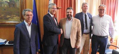 Τις προοπτικές του Μεσογειακού Αγρονομικού Ινστιτούτου Χανίων συζήτησαν Αραχωβίτης και CIHEAM