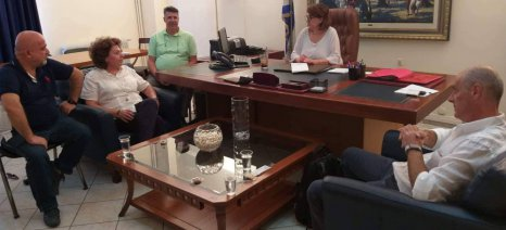 Με τα συλλογικά όργανα των κτηνιάτρων συναντήθηκε η υφυπουργός Τελιγιορίδου