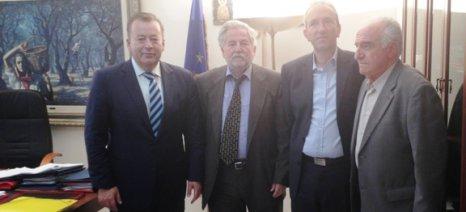 Για τα μικρά αναπτυξιακά έργα στο δήμο Αργιθέας συζήτησαν Κόκκαλης και δήμαρχος