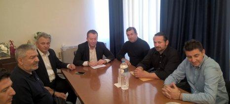 Συνάντηση δημάρχου Σοφάδων με Κόκκαλη για νιτρορύπανση