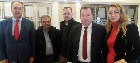 Παραγωγικές εγκαταστάσεις στη Μακεδονία επισκέφθηκε ο Κόκκαλης