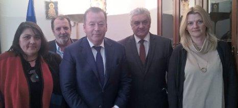 Για ενισχύσεις ΠΣΕΑ και φράγμα Λιβαδότοπου συζήτησαν Κόκκαλης και Κολλάτος