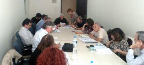 Δεύτερη σύσκεψη Τσιρώνη με επιστημονική ομάδα για τα προγράμματα μελισσοκομίας