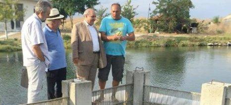 Ο Μάρκος Μπόλαρης στην Κεραμωτή – Υποστήριξη του συνεταιρισμού αλιέων μέσω του νέου ΕΣΠΑ