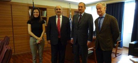 Με τον Γάλλο πρέσβη συζήτησε ο Μάρκος Μπόλαρης τις προοπτικές εξαγωγών ελληνικών προϊόντων