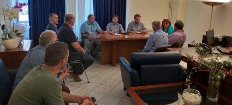 Με την Νέα Ομοσπονδία Χοιροτροφικών Συλλόγων Ελλάδος συναντήθηκε η Τελιγιορίδου