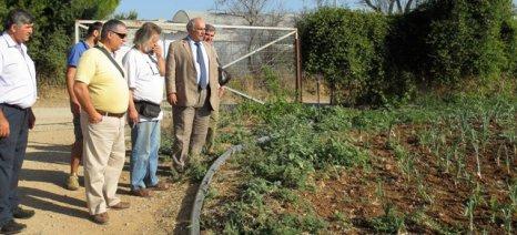 Το οικολογικό αγρόκτημα του Θοδωρή Αρβανίτη επισκέφθηκε ο Μπόλαρης και συζήτησε για τα θέματα της βιολογικής γεωργίας