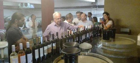 Η κατάργηση του ΕΦΚ στο κρασί εντός του 2017 και ο συνεργατισμός, κυριάρχησαν στην περιοδεία Αποστόλου στα Καλάβρυτα