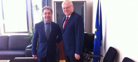 Επαφές Κασίμη στις Βρυξέλλες για προγράμματα αλιείας, γεωργίας, νέων αγροτών και νησιών