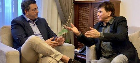 Τζιτζικώστας: «Τον Απρίλιο η πρώτη ταινία του Bollywood στην Κεντρική Μακεδονία»