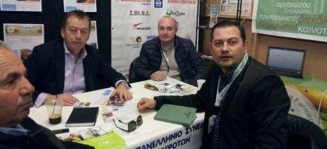 Τις θέσεις της για τη νέα ΚΑΠ παρουσίασε η ΠΕΝΑ στην Agrotica