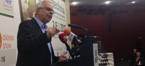 Μέτρα για την καταπολέμηση των ελληνοποιήσεων και την εξυγίανση της αγοράς αγροτικών προϊόντων εξήγγειλε ο Αποστόλου