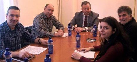 Συναντήσεις Κόκκαλη με τον πρόεδρο του ΓΕΩΤΕΕ και τον Α.Σ. Θεσσαλών Τοματοπαραγωγών «ΘΕΣΤΟ»