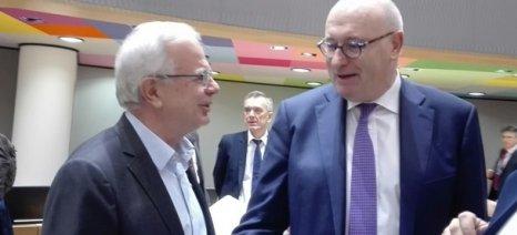 Αποστόλου: Να αποκλειστεί το ενδεχόμενο πρότασης της Κομισιόν για πλήρη σύγκλιση των ενισχύσεων μεταξύ των κρατών μελών