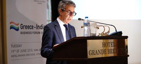 Αμοιβαία επωφελής η ανάπτυξη του εμπορίου αγροδιατροφικών προϊόντων μεταξύ Ινδίας και Ελλάδας
