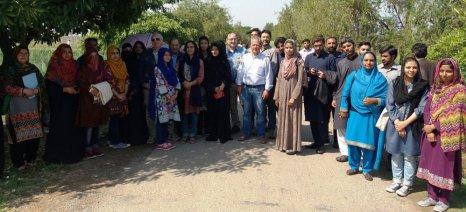 Εξοικονόμηση νερού στον αγροτικό τομέα του Πακιστάν
