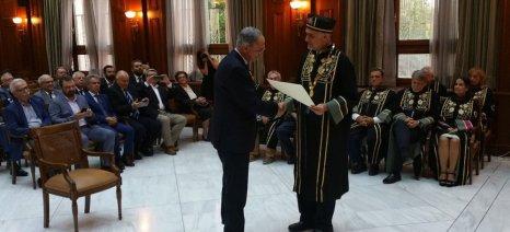 Ο Κύπριος υπουργός Γεωργίας, Κώστας Καδής, αναγορεύτηκε επίτιμος διδάκτωρ του Γεωπονικού Πανεπιστημίου Αθηνών