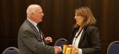Ολυμπία Τελιγιορίδου: «Βαθαίνει η συνεργασία Ελλάδας-Κύπρου-Ισραήλ στον αγροτικό τομέα προς όφελος των αγροτών»