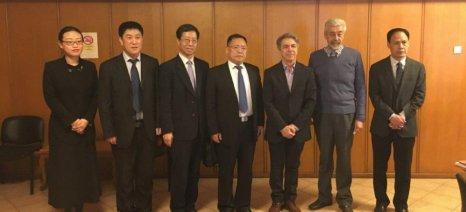 Κινεζική αντιπροσωπεία από την επαρχία Shanxi επισκέφτηκε το ΥΠΑΑΤ