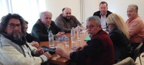 Συνάντηση Κόκκαλη με αντιπροσωπεία του Αγροτικού Ανθοκομικού Συνεταιρισμού Φυτωριούχων Αχαρνών Αττικής