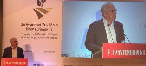 Σε έναν απολογισμό των ενεργειών του υπουργείου Αγροτικής Ανάπτυξης προχώρησε ο Αποστόλου, μιλώντας στο αγροτικό συνέδριο της Ναυτεμπορικής