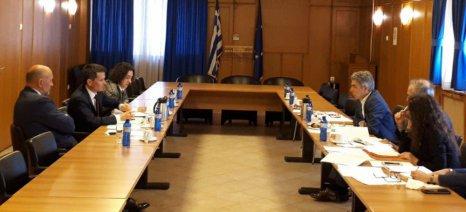 Συνάντηση Κασίμη με γαλλική αντιπροσωπεία για τα θέματα της μελλοντικής ΚΑΠ