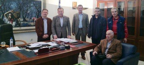 Ο ΠΣΑΘ ζήτησε από τον Κόκκαλη την επιτάχυνση της υλοποίησης δύο αγροτικών προγραμμάτων