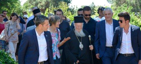 Στην 1η Γιορτή Ανταλλαγής Παραδοσιακών Ποικιλιών στην Ιερά Θεολογική Σχολή της Χάλκης ο Τσιρώνης