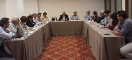 Συνάντηση εργασίας Τσιρώνη με την ακαδημαϊκή κοινότητα στο 5ο Περιφερειακό Συνέδριο για την Παραγωγική Ανασυγκρότηση
