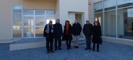Τα κυριότερα τελωνεία της Βόρειας Ελλάδας και την Τράπεζα Γενετικού Υλικού επισκέφθηκε ο Αντώνογλου