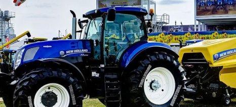 Kάτω του 1% το ποσοστό αντικατάστασης γεωργικών μηχανημάτων στην Ελλάδα