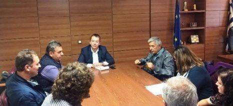 Με στόχο την ίδρυση Διεπαγγελματικής Ομάδας Ακτινιδίου συναντήθηκε ο Α.Σ. Πυργετού με τον Κόκκαλη